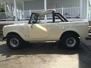 1967 all original scout