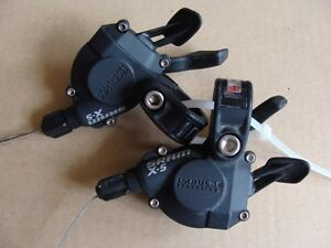 Dual control shifters brake levers SRAM X-5 6x3 speed MTB - Nysa, Polska - Dual control shifters brake levers SRAM X-5 6x3 speed MTB - Nysa, Polska