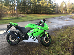 2010 Kawasaki Ninja 250 limited edition