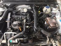 Tdi engine complete conversion AHU mk2 mk3 Vento golf jetta