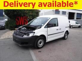 2015 Volkswagen Caddy C20 Startline TDi 1.6 DAMAGED REPAIRABLE SALVAGE