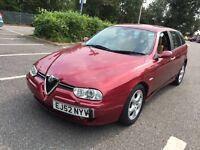 Alfa Romeo 157 JTD 2003 Diesel MOT. TAX. LEATHER ALLOYS