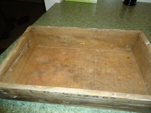 Rustic Antique Vintage Wooden CIL Box