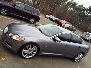 VERY LOW KM, +3 FULL WARRANTY, EXCELLENT SHAPE JAGUAR XF PRIMIUM