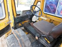 1986 Trackless MT4 Tractor w/wo Snow Plow Blade Mower Salter