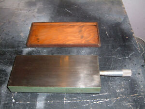 """SURFACE  PLATE  12'' x 5 1/4"""" x 1 1/2"""" thick"""