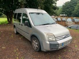2008 Ford Tourneo High Roof 8 Seater LX TDCi 90ps WINDOW VAN Diesel Manual