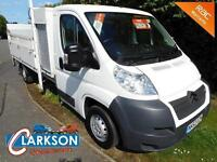 2012 Citroen Relay LWB dropside with taillift & tool storage pod