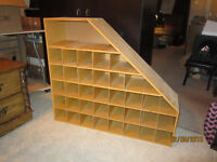 Wooden Cubicle Shelf For Sale