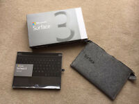 NEW- Microsoft Surface + keyboard (RRP£465) sell for £285