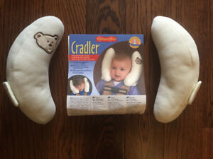 Cradle Head Support cushion for stroller or car seat