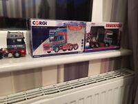 Various corgi collectable model trucks