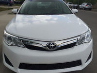 2014 Toyota Camry LE Sedan w/back up camera & bluetooth