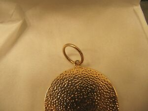 14K yellow gold Pisces pendant with 4 diamonds West Island Greater Montréal image 4