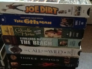 65 VCR movies for sale $25 for all