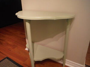 Antique Table Light Green