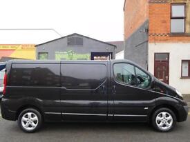 Vauxhall Vivaro 2.0CDTi Sportive LWB van twin side loading doors (4) vans