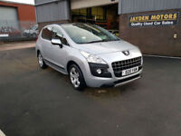 2011 60 PEUGEOT 3008 CROSSOVER 2.0HDi ( 163bhp ) AUTO,EXCLUSIVE , PANORAMIC ROOF