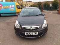 Vauxhall Corsa 2012 petrol for service history manual 1.3 low mileage good condition