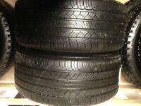 2-P225/50/19 Michelin Latitude tires - SALE installed, no tax