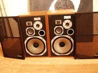 Pioneer HPM-100 - Vintage Classic 4-way Loudspeakers 1977 - all original