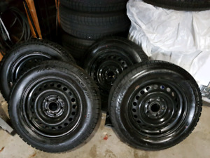Winter tires 1 year old.
