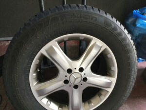 SUV WINTER TIRES WITH RIMS