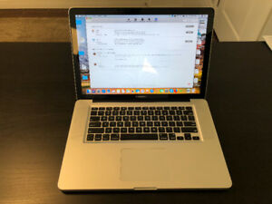 15 inch Early 2011 MacBook Pro