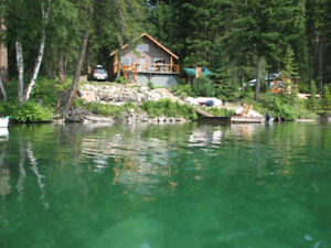 Waterfront Cabin in the Cariboo - OPEN HOUSE