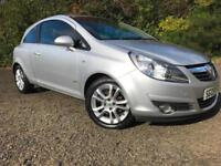 *3 MTHS WARRANTY*2009(09)VAUXHALL CORSA 1.2 SXI 3DR WITH 60K 12 MTHS MOT*