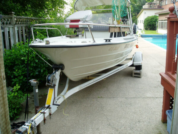 Used 1988 Other klm 18ft pro series boat