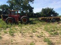 Tractor and disc for sale