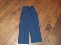 M&S boys grey school trousers age 8