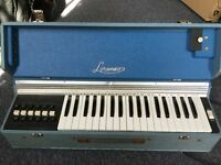 Vintage Lorenzo Italian electric wind organ
