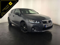 2013 LEXUS CT 200H ADVANCE AUTOMATIC HYBRID SERVICE HISTORY FINANCE PX WELCOME