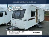 Coachman Vision 575 4 Berth Touring Caravan - Island Bed - Motor Mover