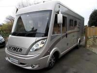 Hymer B598 UK Line 5 Star Edition, 4 Berth Motorhome with Island Bed