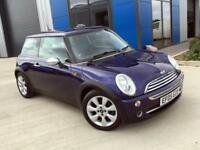 MINI Cooper 2005 Black Eye Purple R50 - Part Leather, Chili Pack