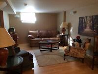 1 bedroom basement suite - March 1st!