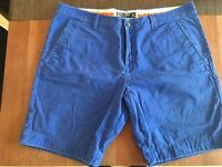 Men's blue Superdry shorts size XXL