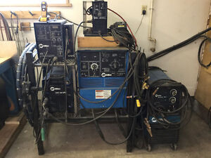 Welding tools and equipment- retired