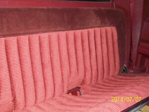 1992 EXTENDED CAB REAR SEAT
