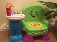 Kids FisherPrice chair