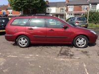 Ford Focus 1.8 Zetec Estate 2003 + FULL SERVICE HISTORY + MOT MAY 2017 + SUPERB CONDITION