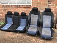 *** RECARO BUCKET SEATS - REMOVED FROM 5DR MK4 GOLF GTI TURBO *** SEATS TRACK CAR PROJECT
