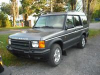 2001 Land Rover Discovery cuir VUS