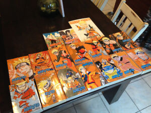 Naruto (3-in-1) Novels #1-42 plus 3 additional books