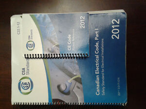 Canadian Electrical Code Book 2012