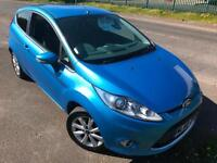 FORD FIESTA 1.25 ZETEC £30 WEEK BLUETOOTH GREAT 1ST CAR MP3/USB 3DR HATCH 2010