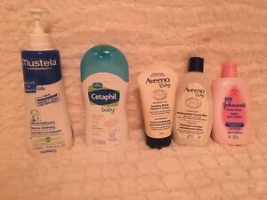 Baby lotion and body wash  $5